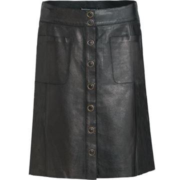 Summum nederdel black