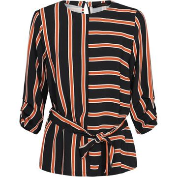 Summum Bluse Striped Crepe