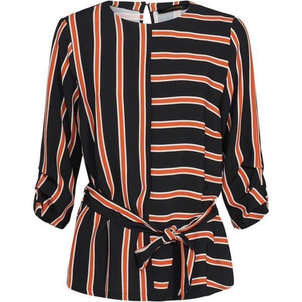 Summum Bluse Striped Crepe