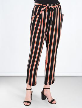 Summum Bukser Striped Crepe