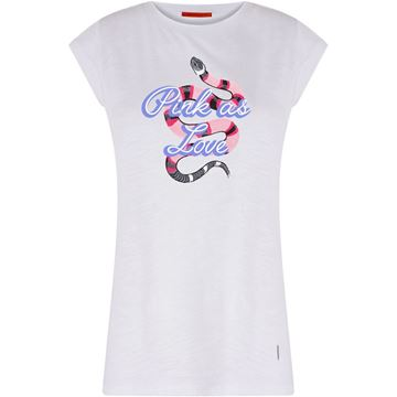 Coster T-shirt Med Snake Placement Print