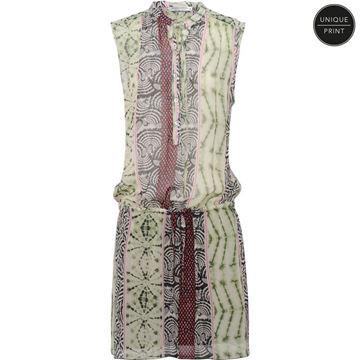 Summum Kjole Tie Dye Stripe