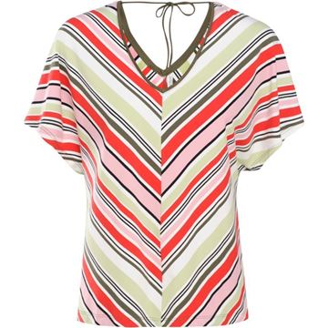 Summum Bluse Sleeve Multicolour Stripe