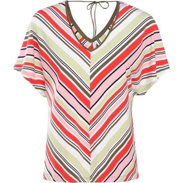 Summum Bluse Sleeve Multicolour Stripe