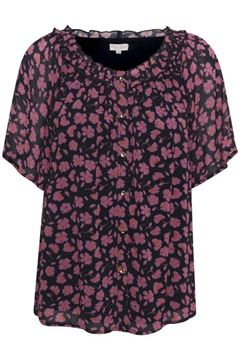 Part Two Bluse Salmae Flower Print Dark