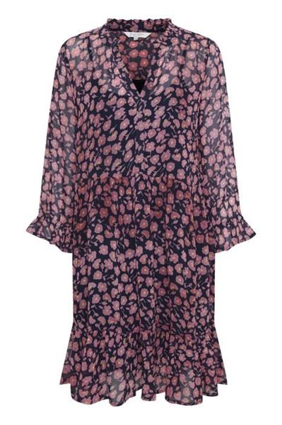 Part Two Kjole Samantha Flower Print Dark