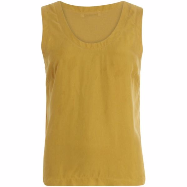 coster strap top w. jersey back