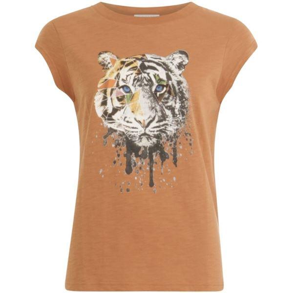 Coster Copenhagen T-shirt W. Tiger Print