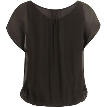 Coster Copenhagen Bluse W. Gathering At Neck Front