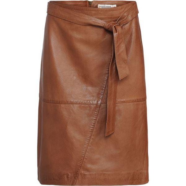 Summum Nederdel Lambs Leather