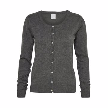Culture Cardigan Annamarie Dark Grey Melange