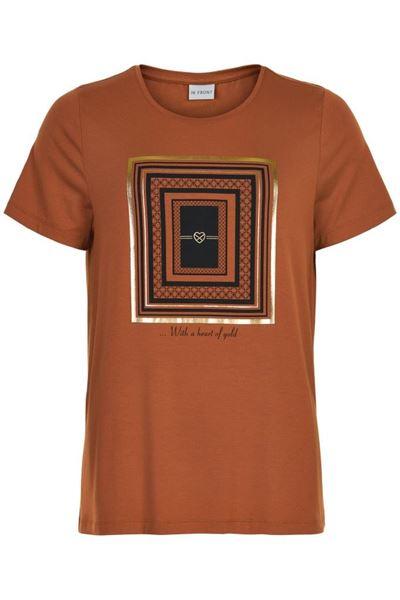 Infront T-shirt Nice Cognac