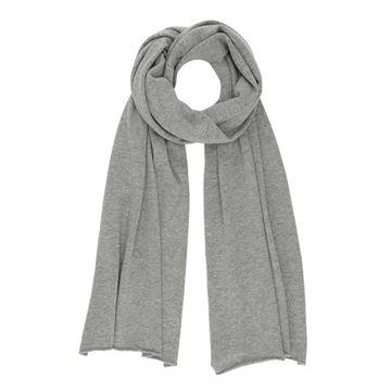 Gauge & Ply Tørklæde Lucia Plain Grey