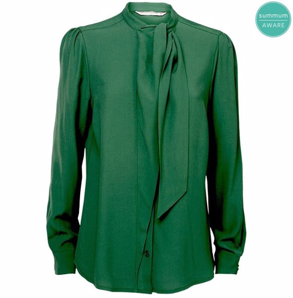 Summum Skjorte Long Sleeves Forest Green