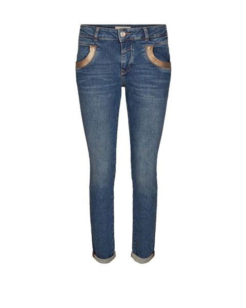 Mos Mosh Jeans Naomi Cube Blue Denim