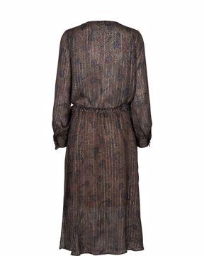 Mos Mosh Kjole Chita Peacock Dress Print