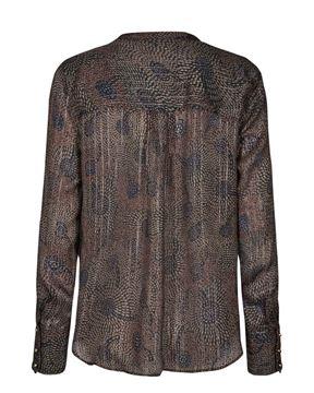 Mos Mosh Skjorte Damia Peacoch Shirt Print