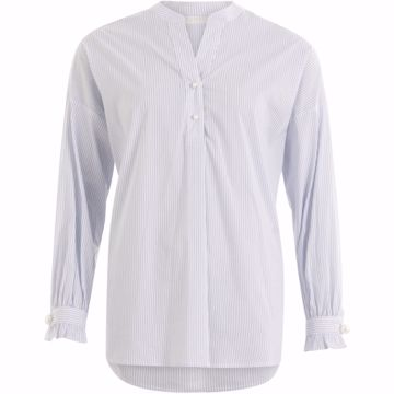 Coster Copenhagen Shirt In Stripe W. Pearls