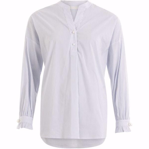 Coster Copenhagen Shirt In Stripe W. Pearls