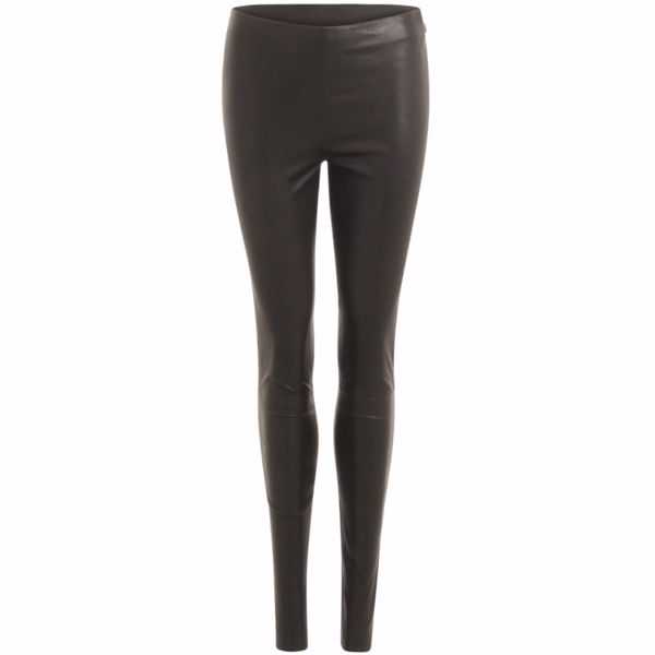 Coster Copenhagen Skind Leggings Mynte Sort