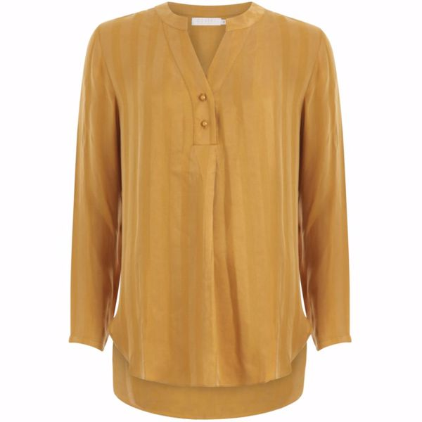Coster Copenhagen Bluse W. 3/4 Sleeves Camel