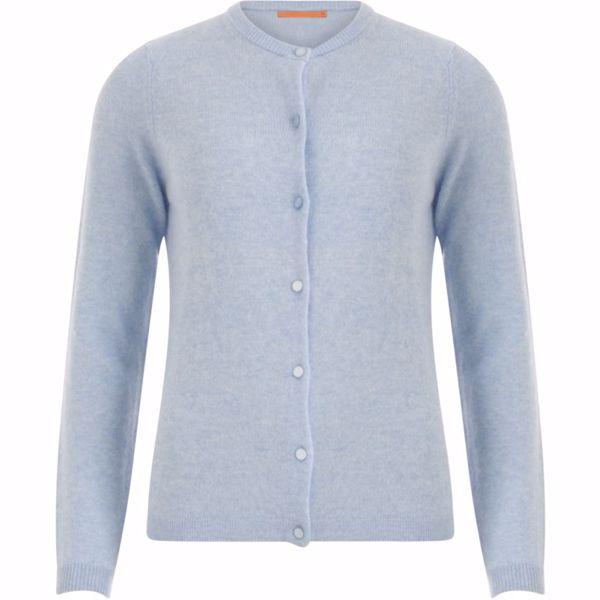 Coster Copenhagen Cardigan Cashmere Powder Blue