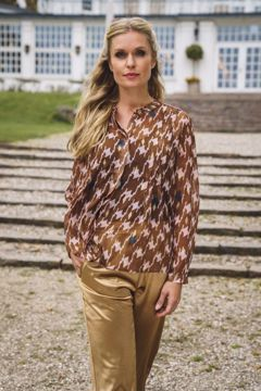 Infront Bluse Sandra Light Brown