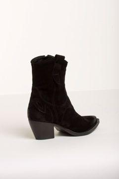 Bukela Shoes Støvle Sanna Nero