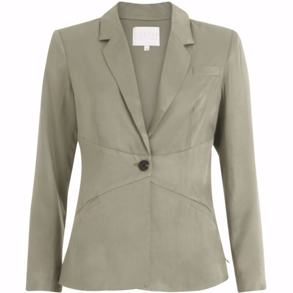 Coster Copenhagen Blazer W. Closure At Waist