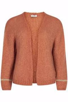 Infront Strik Cardigan Anika Rose Wood