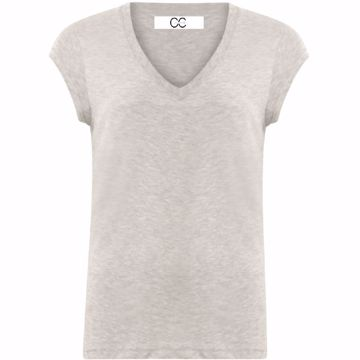 Coster Copenhagen Basis Tee Light Grey Melange