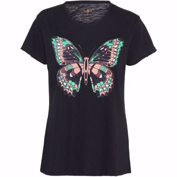Costa Mani T-shirt Butterfly Black