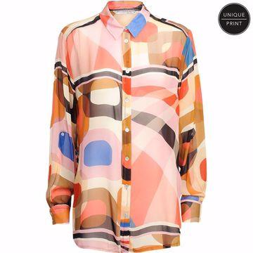 Summum Skjorte Grafisk Print Multicolour