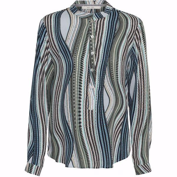Costa Mani Bluse Lexis Mix mint Stripe