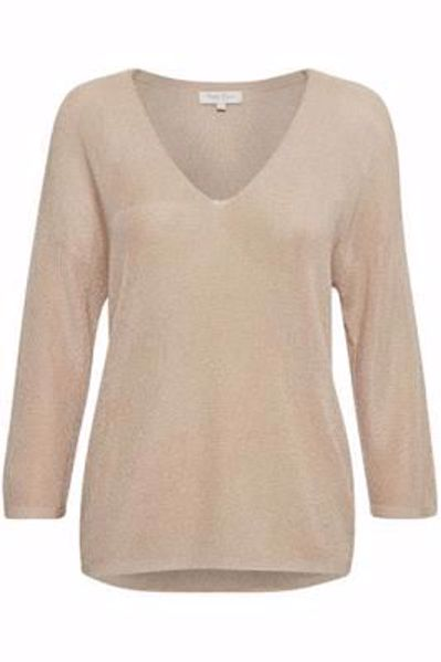 Part Two Bluse Beda Pu Cafe Creme