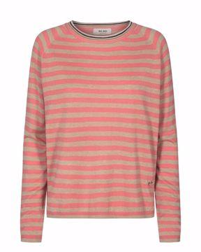 Mos Mosh Strik Wyn Stripe Knit Sugar Coral