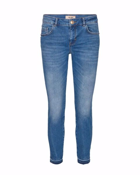 Mos Mosh Jeans Sumner Decor Light Blue