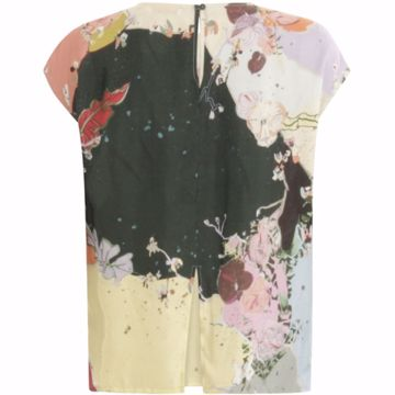Coster Copenhagen Bluse Cupro W. Silk At Front
