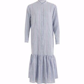 Coster Copenhagen Dress W. SkirtPart Snow Blue