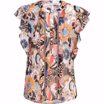 Summum Top Flower Print Multicolour