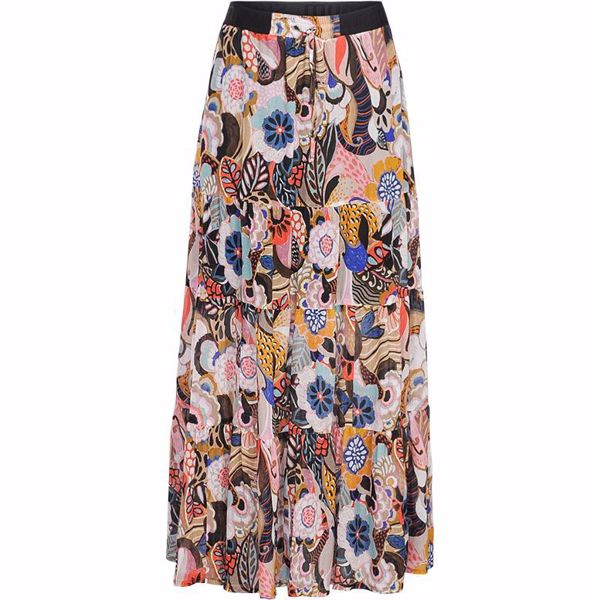 Summum Nederdel Flower Print Multicolour