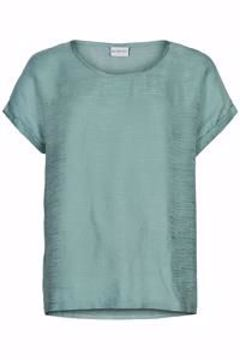 Infront Bluse Alva Short Sleeve Agua Green
