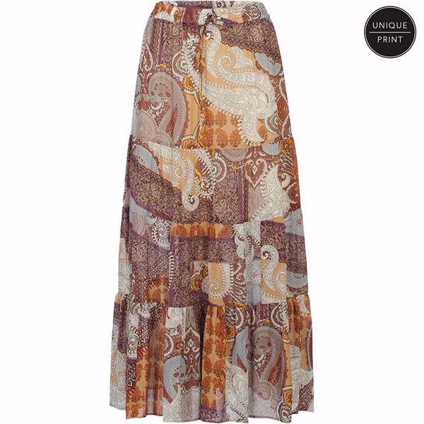 Summum nederdel oriental print