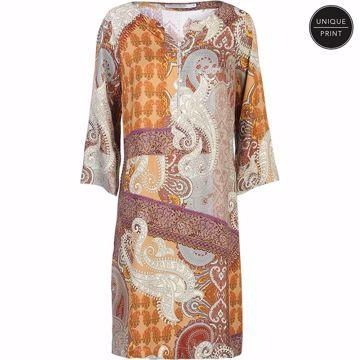 Summum kjole oriental print