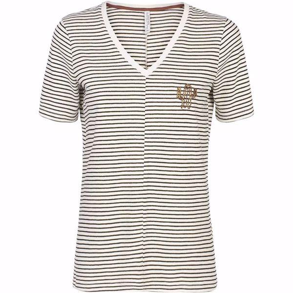 Summum t-shirt sparkle stripe
