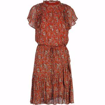 Summum kjole siv paisley print