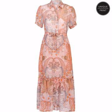 Summum kjole paisley print