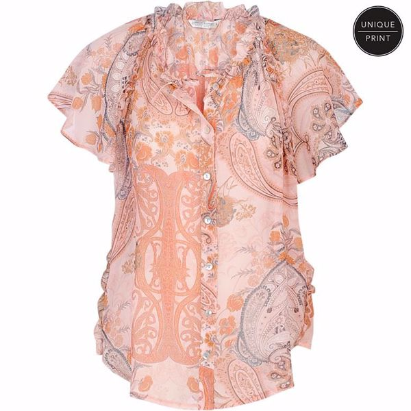 Summum top paisley print