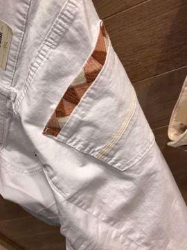 Mos Mosh Bukser Sumner Decor Pant White