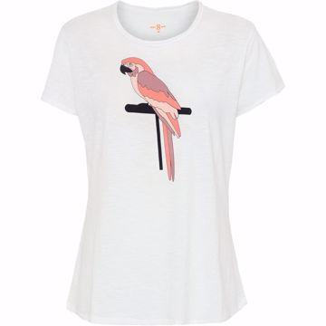 Costa Mani T-shirt Parrot White